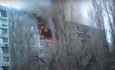 Video: Daudzstāvu mājā Volgogradā noticis gāzes sprādziens