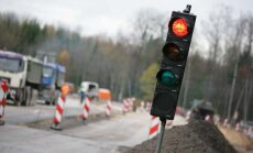 Uz Rīgas apvedceļa izveidojies sastrēgums