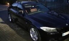 Netālu no Kauņas ļaundari nolaupa vīrietim Latvijā reģistrētu BMW spēkratu