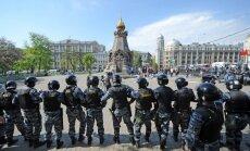 Maskavas 6. maija sadursmju lietā nopratināti simtiem policistu