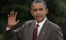 Obama Grībauskaitei: Baltijas reģions ir ASV uzmanības lokā
