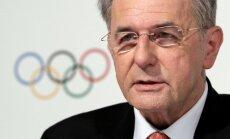 Roge: 'Antigeju' likums nedrīkst ietekmēt Soču olimpiskās spēles