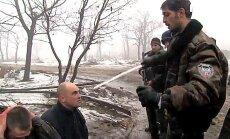 Video: Prokrieviskie teroristi pazemo Ukrainas 'kiborgus'