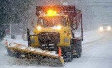 ASV ziemeļaustrumu piekrastē gaidāma spēcīga sniega vētra
