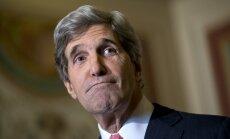Kerijs: Asads nevar piedalīties Sīrijas jaunajā valdībā