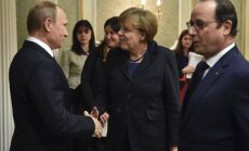 """Лидеров """"нормандской четверки"""" беспокоят угрозы в адрес миссии ОБСЕ"""