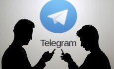'Telegram' atklāta pornogrāfiska satura klātbūtne