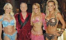 Divi leģendāri 'Playboy' zaķi publiski izgāž žulti