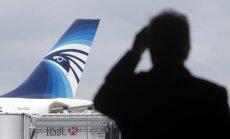 Vidusjūrā atrasta un izcelta 'EgyptAir' lidmašīnas 'melnā kaste'