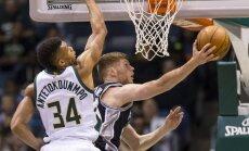Bertānam neliels spēles laiks 'Spurs' izcīnītā kārtējā uzvarā