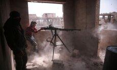 Damaskā izcēlušās smagas kaujas