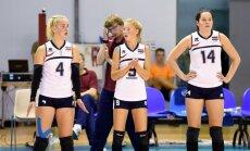 Latvijas U-19 meiteņu volejbola izlase piekāpjas Slovēnijai