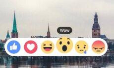 'Wow', 'Like' un 'Haha' – kā feisbuka paradumi ietekmē saturu, ko redzat