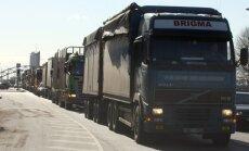 Latvijas autopārvadātāji šokā par prasību maksāt minimālo algu - 8,5 eiro stundā, darbiniekiem, kuri šķērsojuši Vācijas robežu