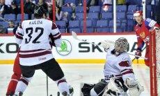 Krievijas izlases galējā sastāvā spēlēm pret Latviju iekļauti tikai KHL hokejisti
