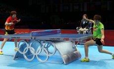 XXX Vasaras olimpisko spēļu galda tenisa sacensību sieviešu vienspēļu fināla rezultāti (01.08.2012)