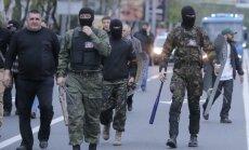 Pašpasludinātā Doņeckas tautas republika 'sašķēlusies' trīs daļās