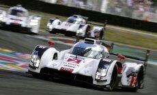 'Audi' uzvarējis Lemānas 24 stundu sacīkstēs piekto reizi pēc kārtas
