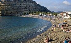 Krētas salas tuvumā notikusi 5,1 magnitūdu spēcīga zemestrīce
