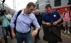 Prokuratūra pārsūdz tiesas lēmumu arestēt Navaļniju