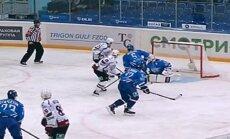 Rīgas 'Dinamo' izbraukumu sēriju sāk ar atspēlēšanos un uzvaru