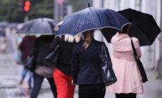 В понедельник ожидается дождливая погода, возможны ливни