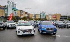 Foto: 'Latvijas Gada auto 2017' rudens braucienā debitē 'Audi Q2' un 'Hyundai Ioniq'
