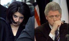 Levinska atkal pārvērtējusi dēku ar Klintonu
