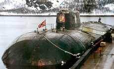 Severodvinskas kuģubūvētavā 'Zvaigznīte' aizdegusies Krievijas atomzemūdene
