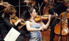 Pasaulslavenā vijolniece Baiba Skride 'Rīgas festivāla' noslēgumā atskaņos Čaikovska Vijolkoncertu