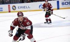 Rīgas 'Dinamo' mājas spēļu sēriju noslēdz ar smagu zaudējumu 'Baris'