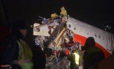Maskavā avarē un aizdegas lidmašīna; četri bojāgājušie (plkst.21:49)