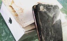 """Apple опять """"крадет"""" у Samsung: покупатель получил сгоревший в заводской упаковке iPhone 7"""