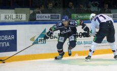 'Sibir' pirmajā KHL ceturtdaļfināla spēlē uzvar Gagarina kausa ieguvēju 'Metallurg'