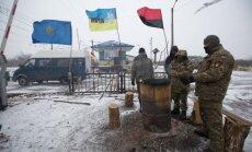 Ukrainas iekšlietu ministrs grib izbeigt separātistu teritorijas blokādi