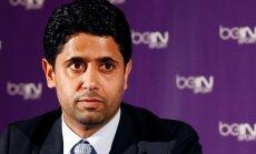 Šveices prokuratūra izvirzījusi apsūdzību korupcijā PSG komandas prezidentam Al-Helaifi