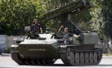 No Krievijas Ukrainā katru dienu iebrauc kara tehnika, stāsta pierobežas iedzīvotāji