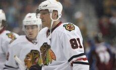 Pārtrūkusi 'Blackhawks' NHL rekordsērija