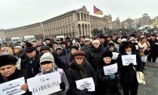 Kijevā notiek vienotības gājiens 'Es esmu Volnovaha'