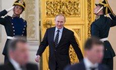 Putins paraksta likumus par Krievijas Nacionālās gvardes izveidi
