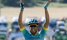 Spānis Fraile uzvar 'Tour de France' 14. posmā, Skujiņam paliekot otrajā simtā