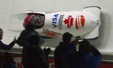 Kanādieša Raša ekipāža triumfē Pasaules kausa septītajā posmā bobslejā divniekiem