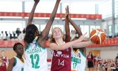 Latvijas U-17 basketbolistes sagrauj Mali un PČ cīnīsies par devīto vietu