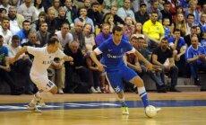 'Nikars' futzālisti UEFA kausu sāk ar kaujiniecisku neizšķirtu