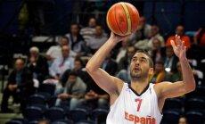 Iepriekšējā EČ vērtīgākais spēlētājs Navarro šogad nepalīdzēs Spānijas basketbola izlasei