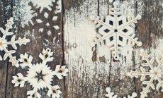 Зима близко: в Даугавпилсе падают первые снежинки