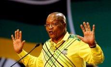DĀR valdošā partija nolēmusi atcelt Zumu no prezidenta amata