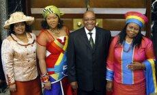 Džeikobs Zuma – vienīgais prezidents, kuram ir vairākas sievas