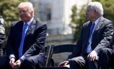 ASV ģenerālprokurors Trampam asā sarunā draudējis atkāpties