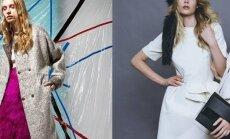 Latvijas modes meistaru kolekcijas, kas tiks prezentētas Rīgas modes nedēļā